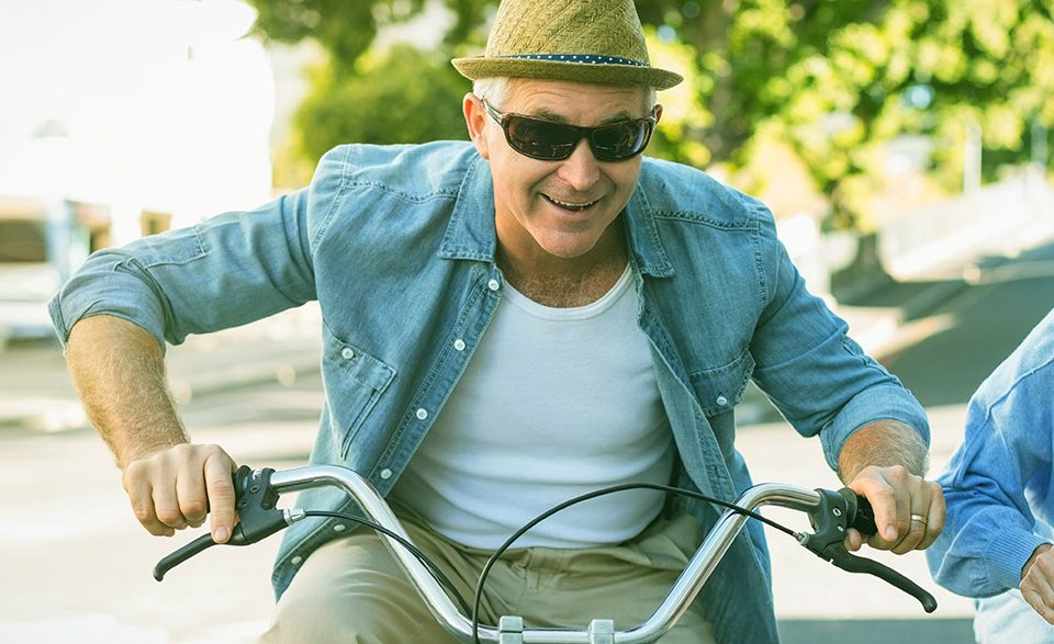 Medicare Subscribers on Bikes